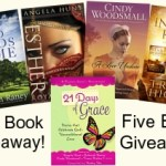 Five-book Giveaway image