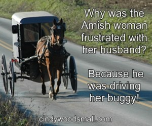 Why was the Amish woman