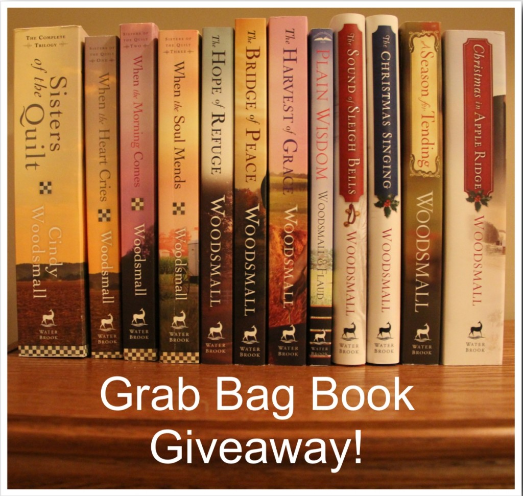 Grab bag book giveaway