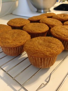 pumpkin cupcakes no frosting