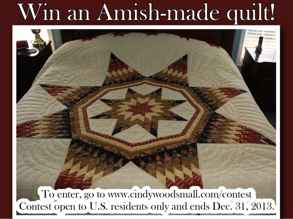 Win an Amish-made Quilt